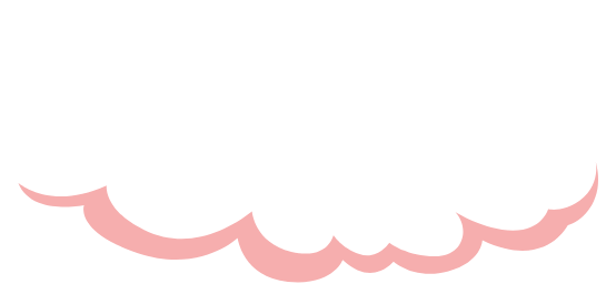 puffy cloud with pink shadow symbolic of demystifying marketing