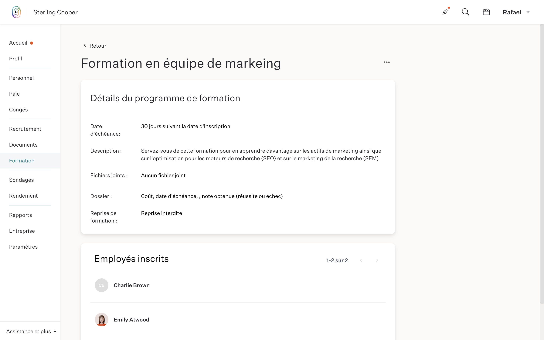 employee management, employee database