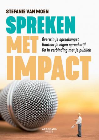 Boek: Spreken met impact, auteur Stefanie Van Moen