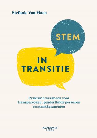 Boek: Stem in transitie, auteur Stefanie Van Moen