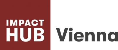 Das Logo des Impact Hub Wien.