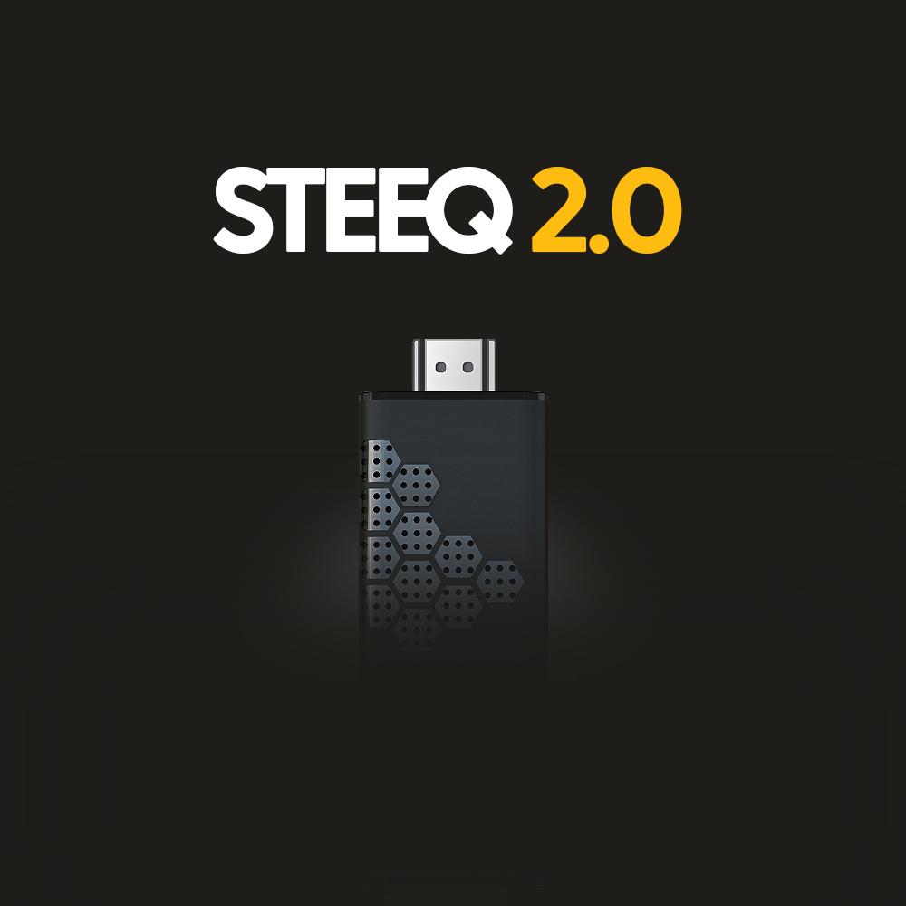 Photo du STEEQ 2.0 boitier d'affichage dynamique SIGNAO de la marque SIGNAO