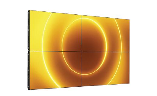mur d'images materiel d'affichage dynamique