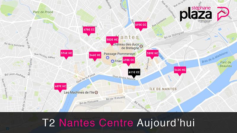 Carte interactive affichage dynamique des annonces immobilières d'une agence