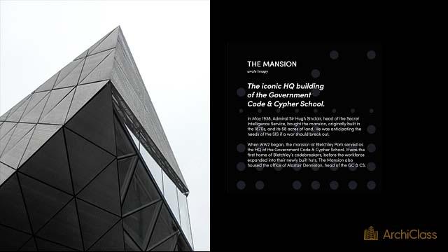 Interface d'affichage dynamique architecture histoire