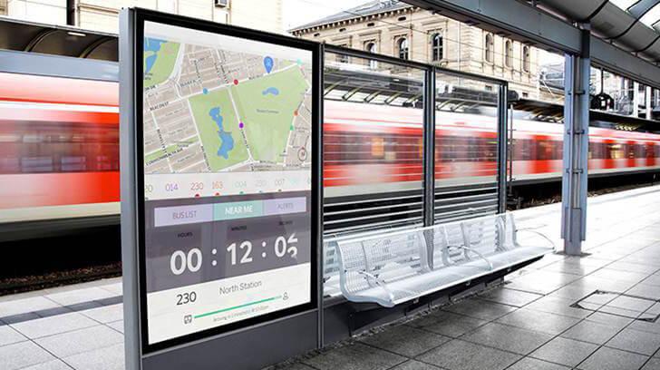 L'affichage dynamique et connecté, au service de l'information voyageur