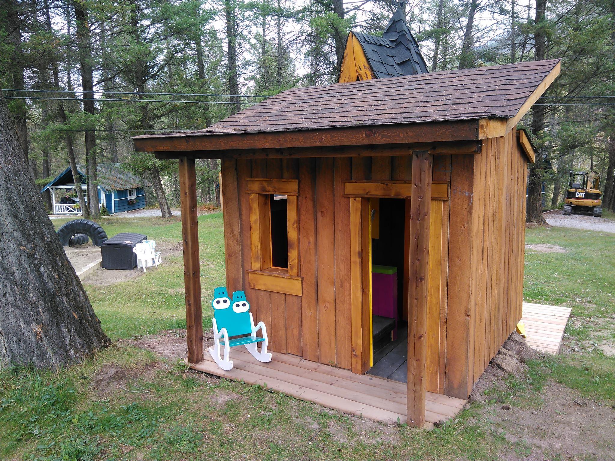 Custom built children's playgrounds