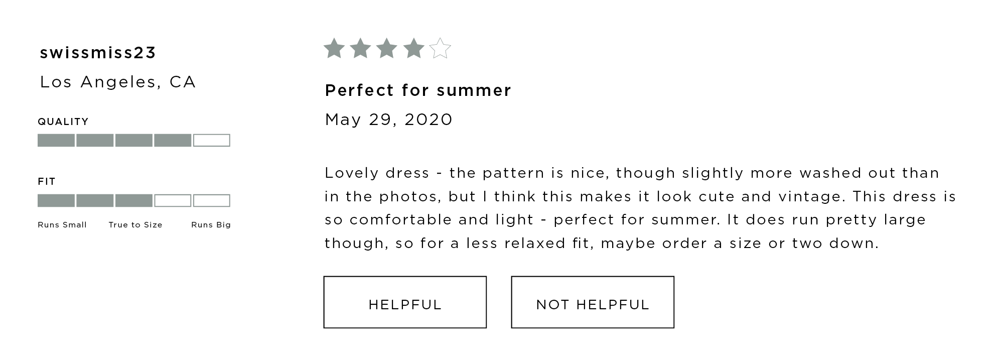 sew & stitch customer review style