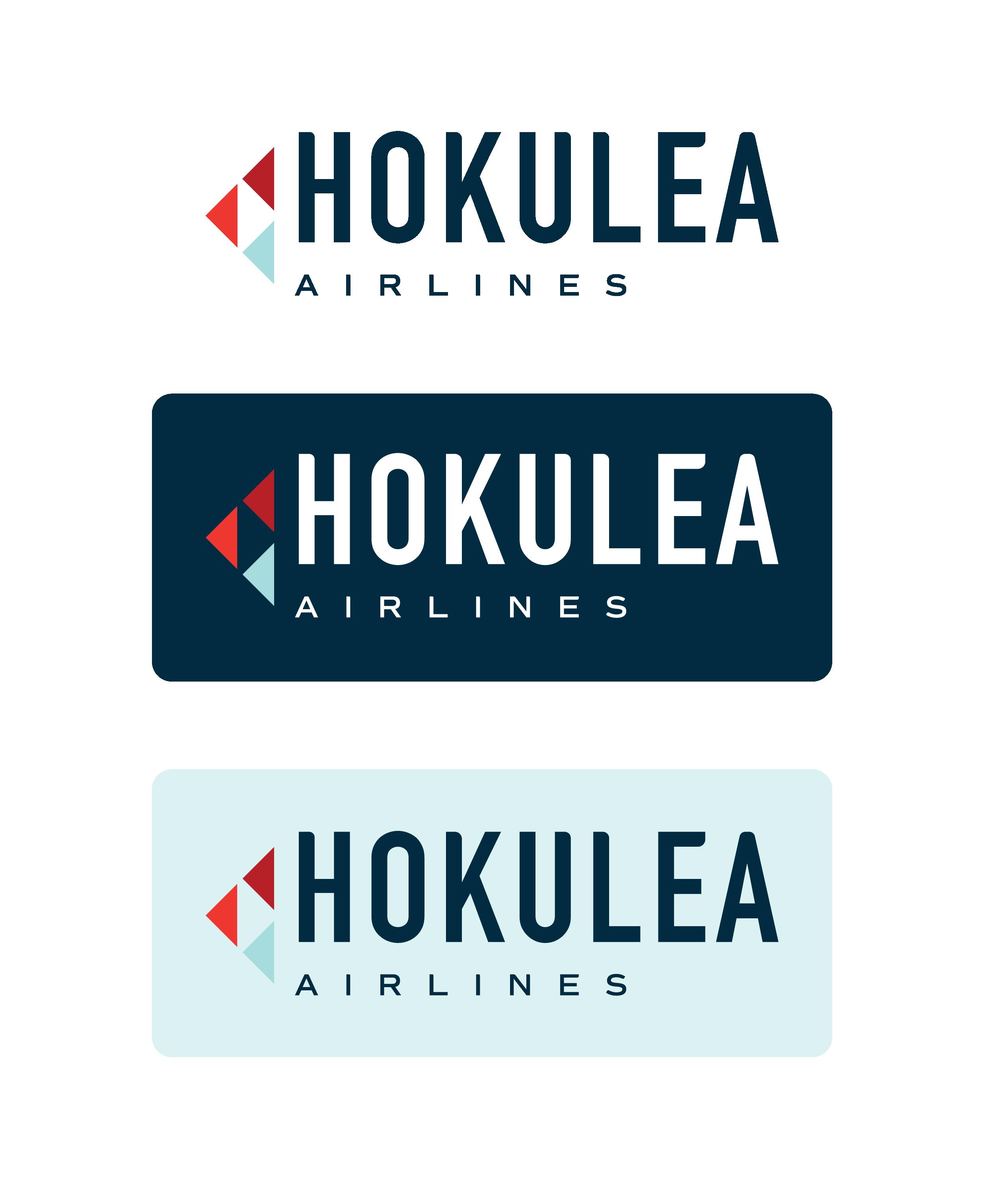 various styles of the hokulea logo