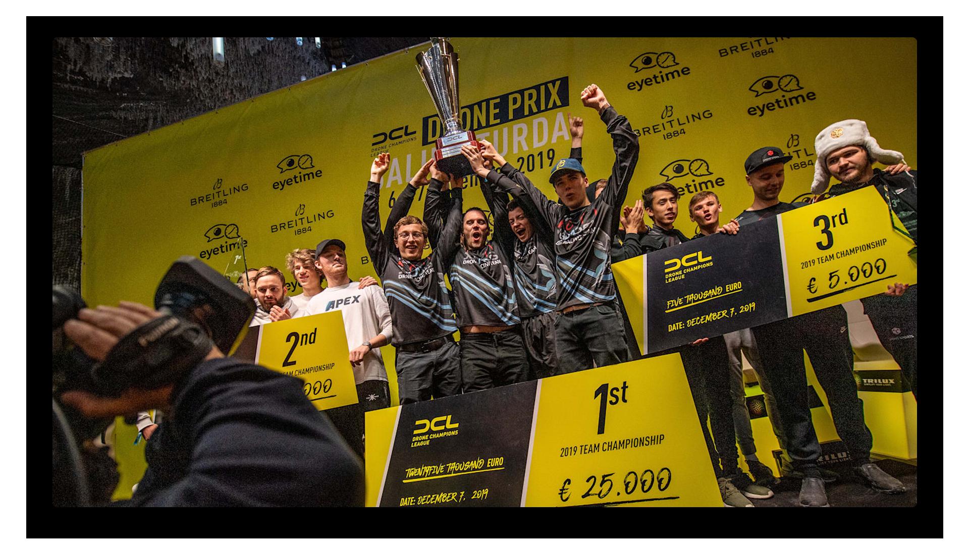 Drone Champions League Trophy