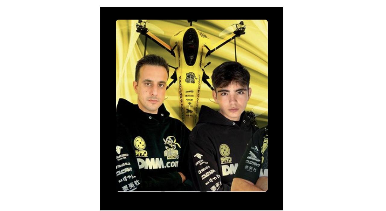 Raiden VR drone duo
