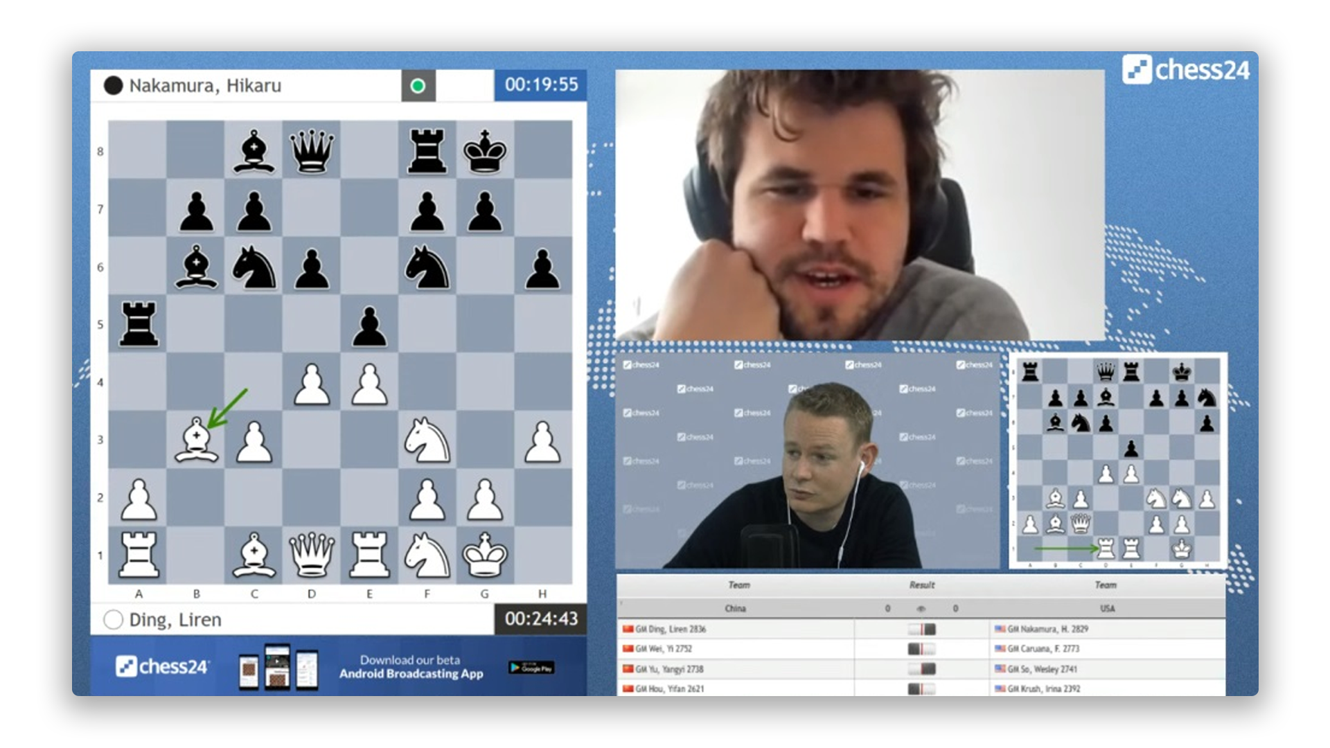 chess24 live gameplay online