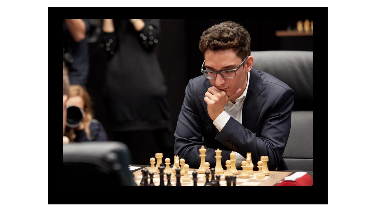 Fabiano Caruana playing