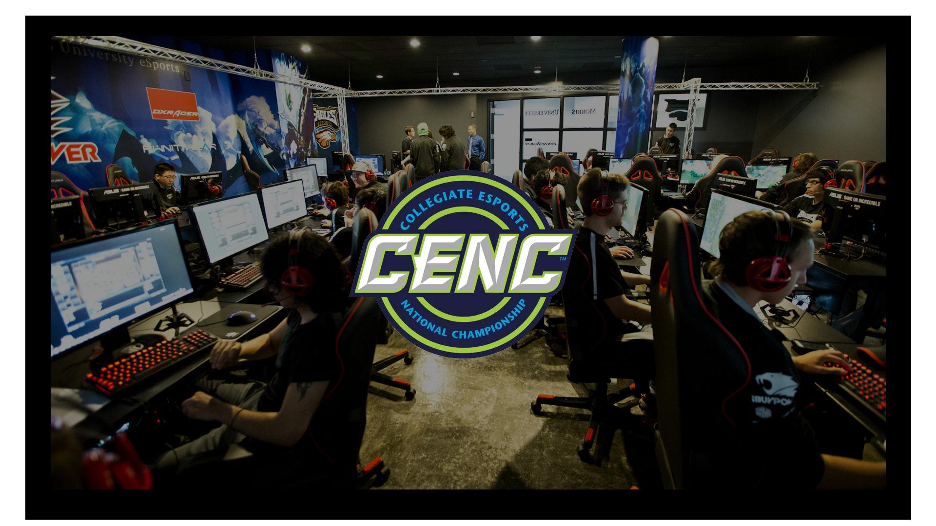 CENC gaming lounge wallpaper