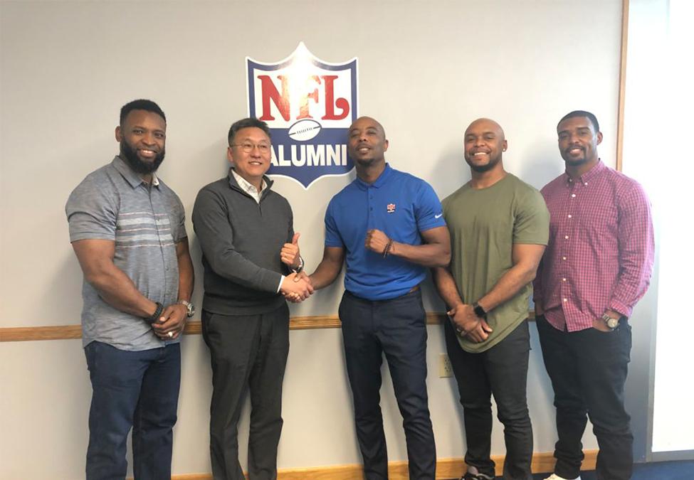 ESTV establishes partnership with NFL Alumni