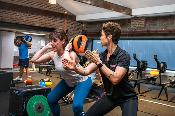 Camperdown Fitness PT Georgina Andrews coaching client