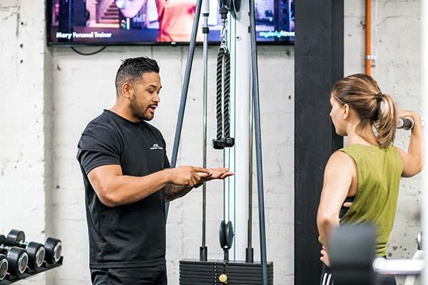 Camperdown Fitness PT Joel Santiago coaching client