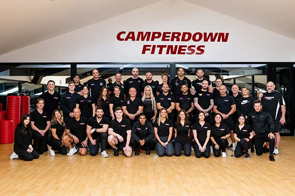Camperdown Fitness staff and personal trainers group