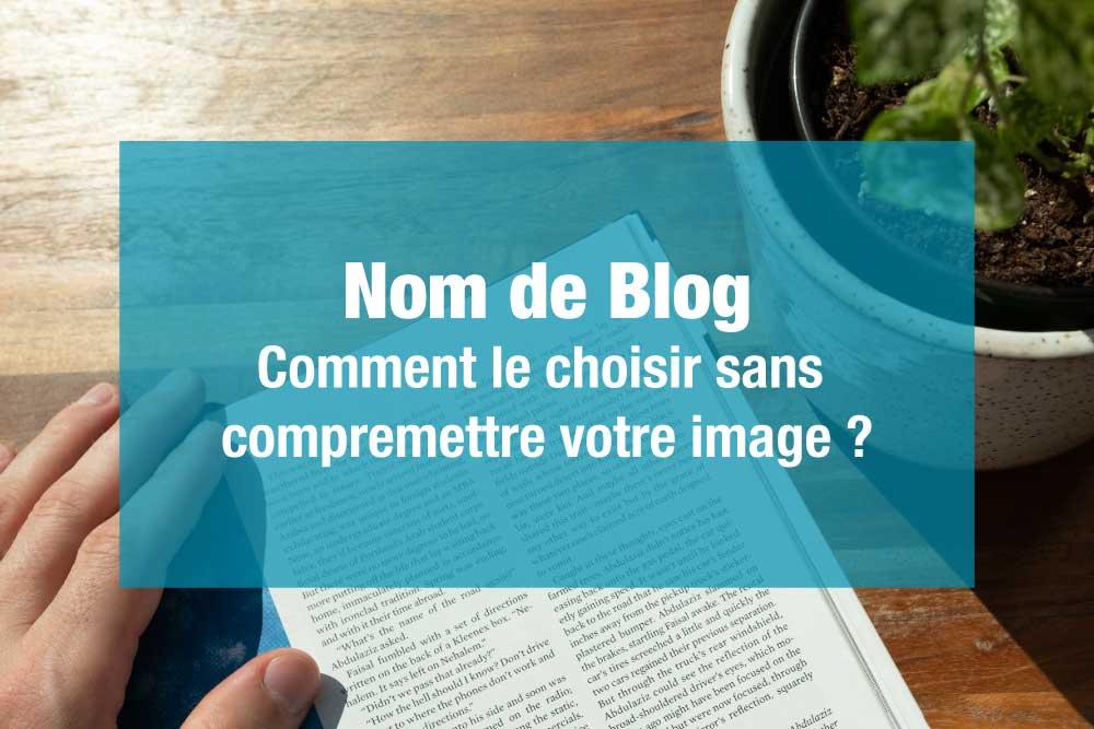 nom de blog