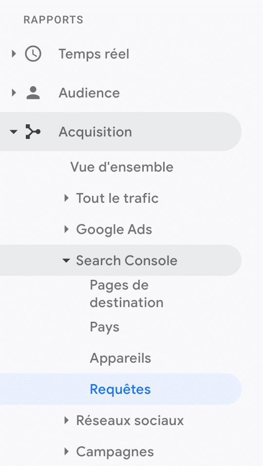 SEO google analytics