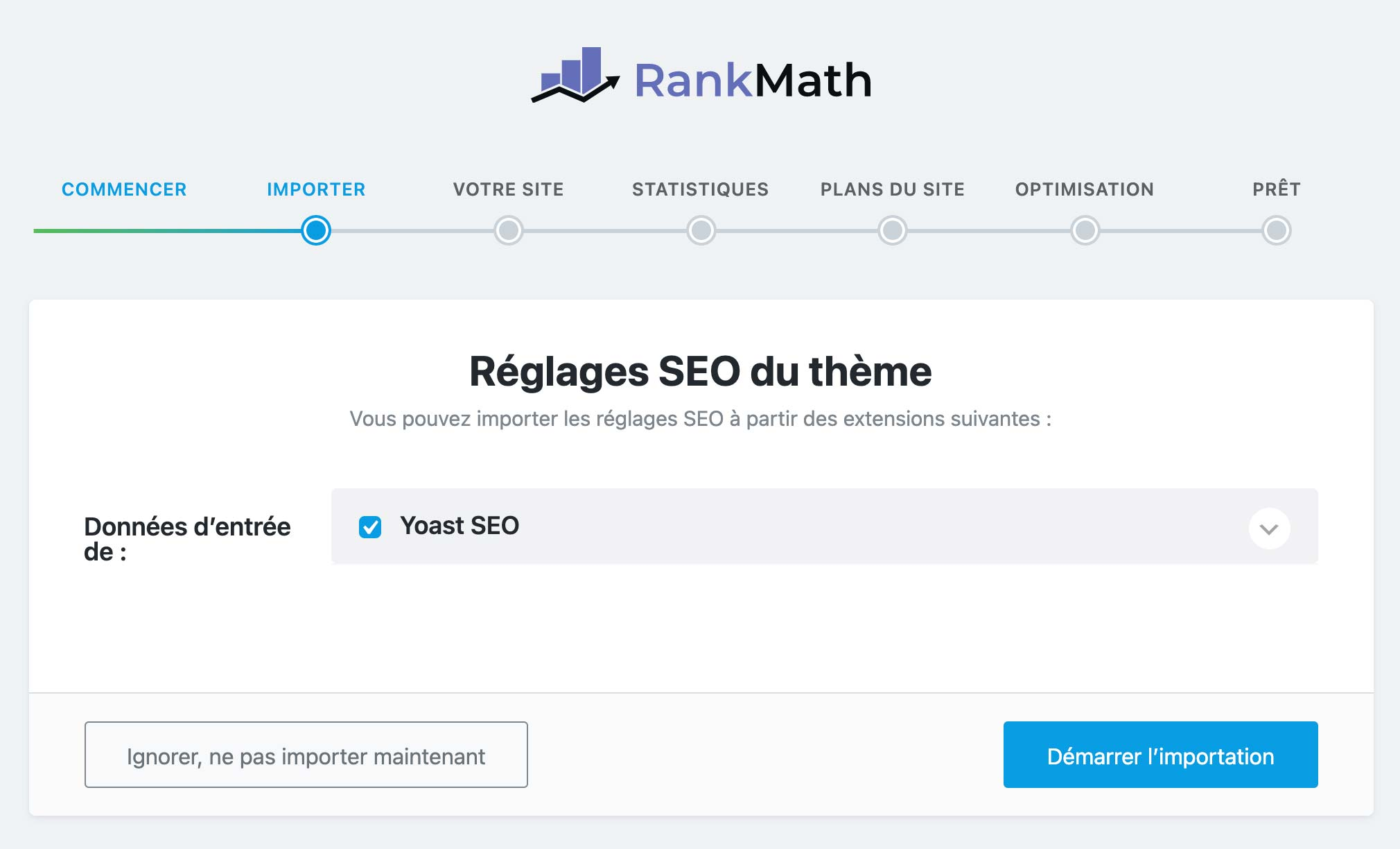 migration Yoast vers Rank Math
