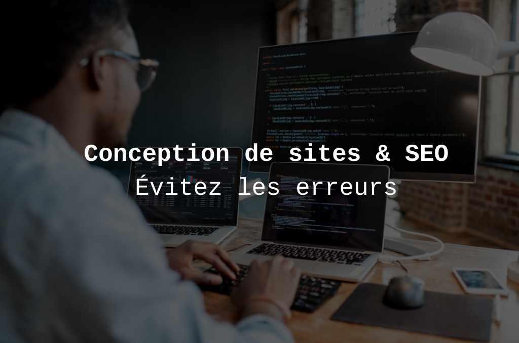 Conception de site web et SEO bannière