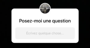 question story instagram