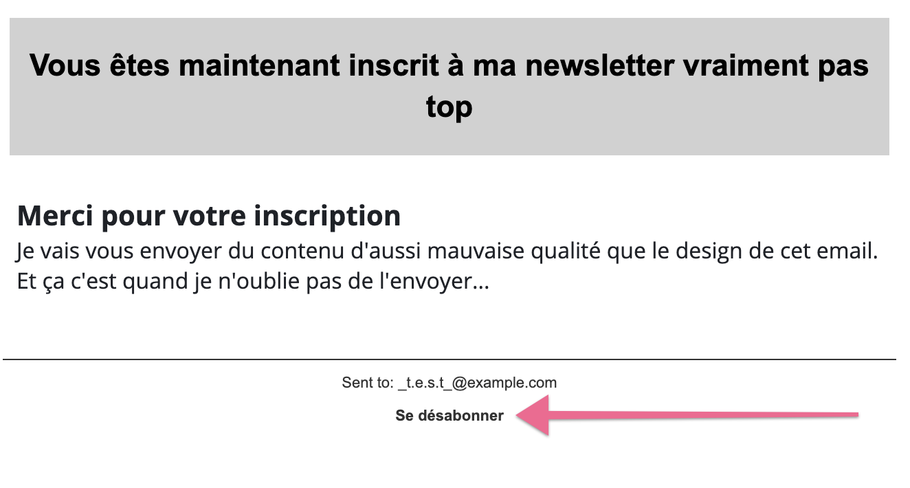 example email automation