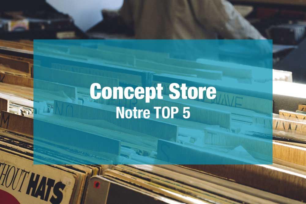 Lancer un concept store
