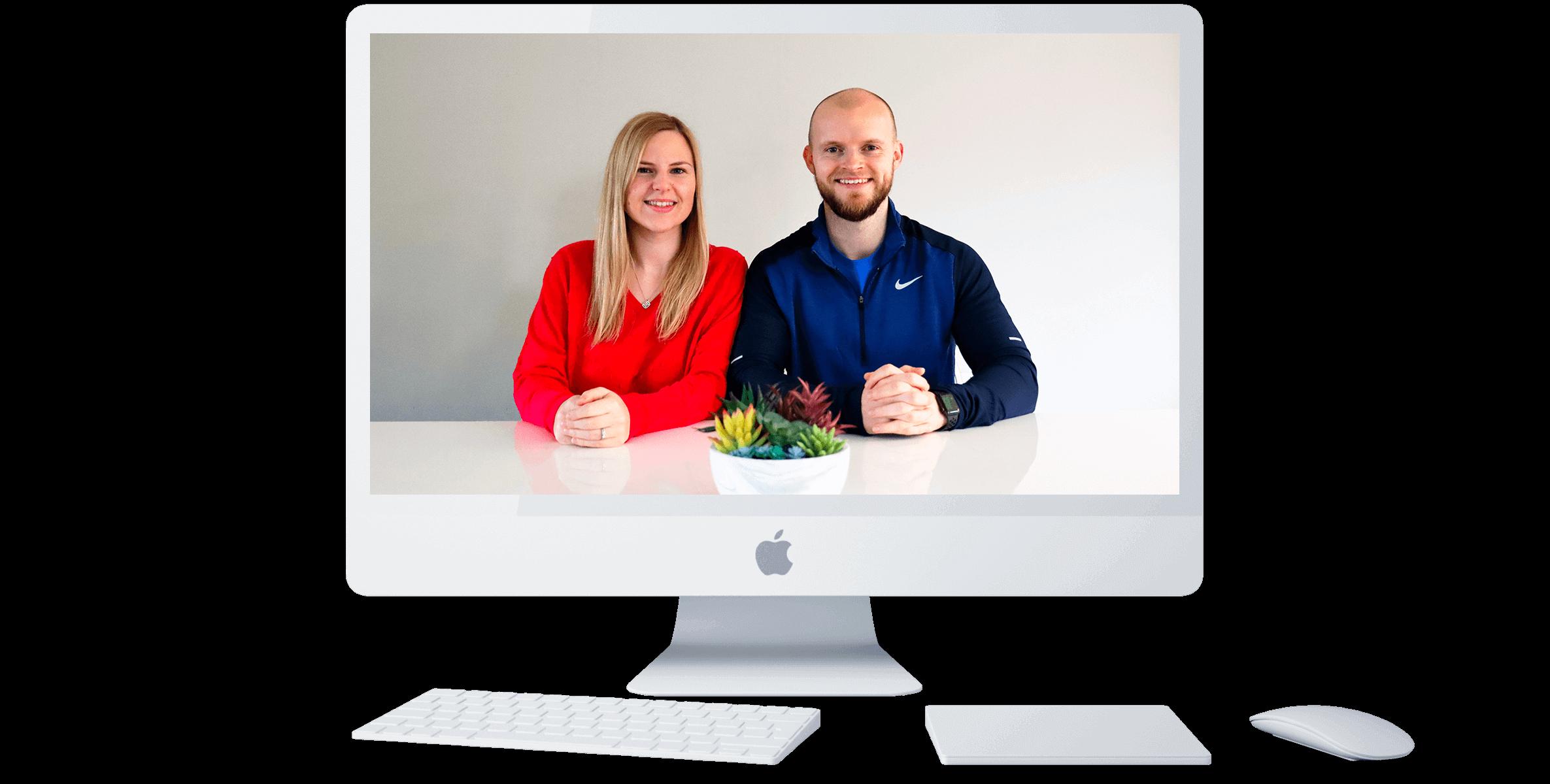 Steve and Stephanie Ashcroft founders of Fruity Llama Designs.