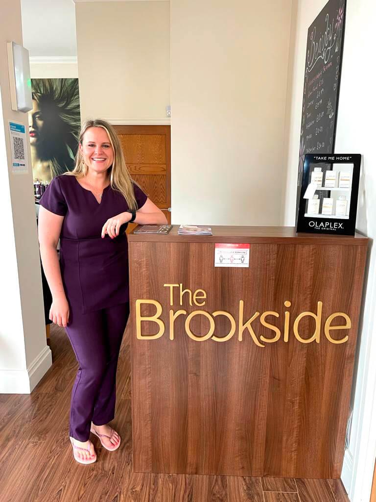 Brookside Beauty salon web design lancashire.