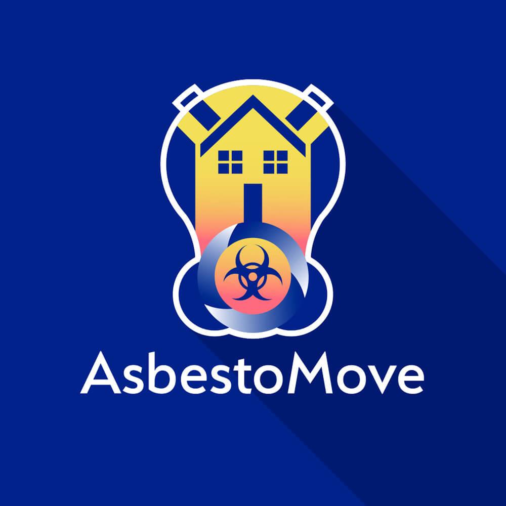 Asbestomove logo design