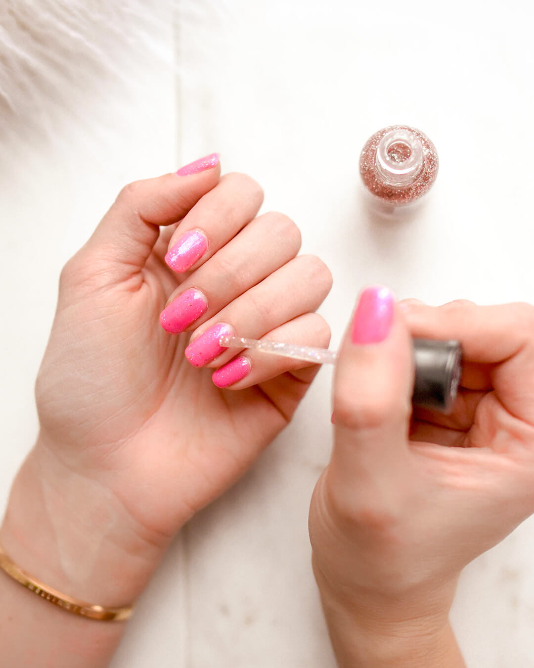 beaty academy treatment nails being painted.