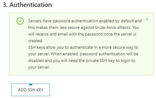 Setare acces SSH  la VPS