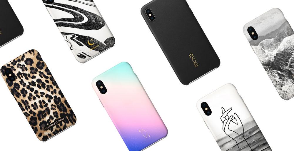 Design of iPhone cases by Alexandra Linortner