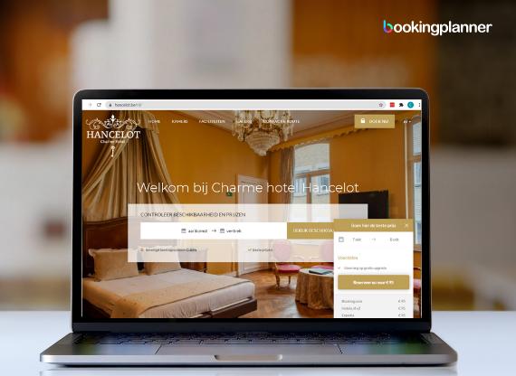 Hotelwebsite Hotel Hancelot
