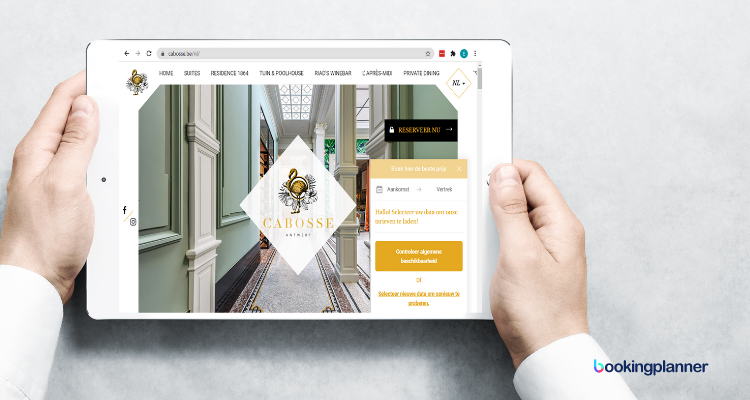 Direct Bookings Hotelwebsite