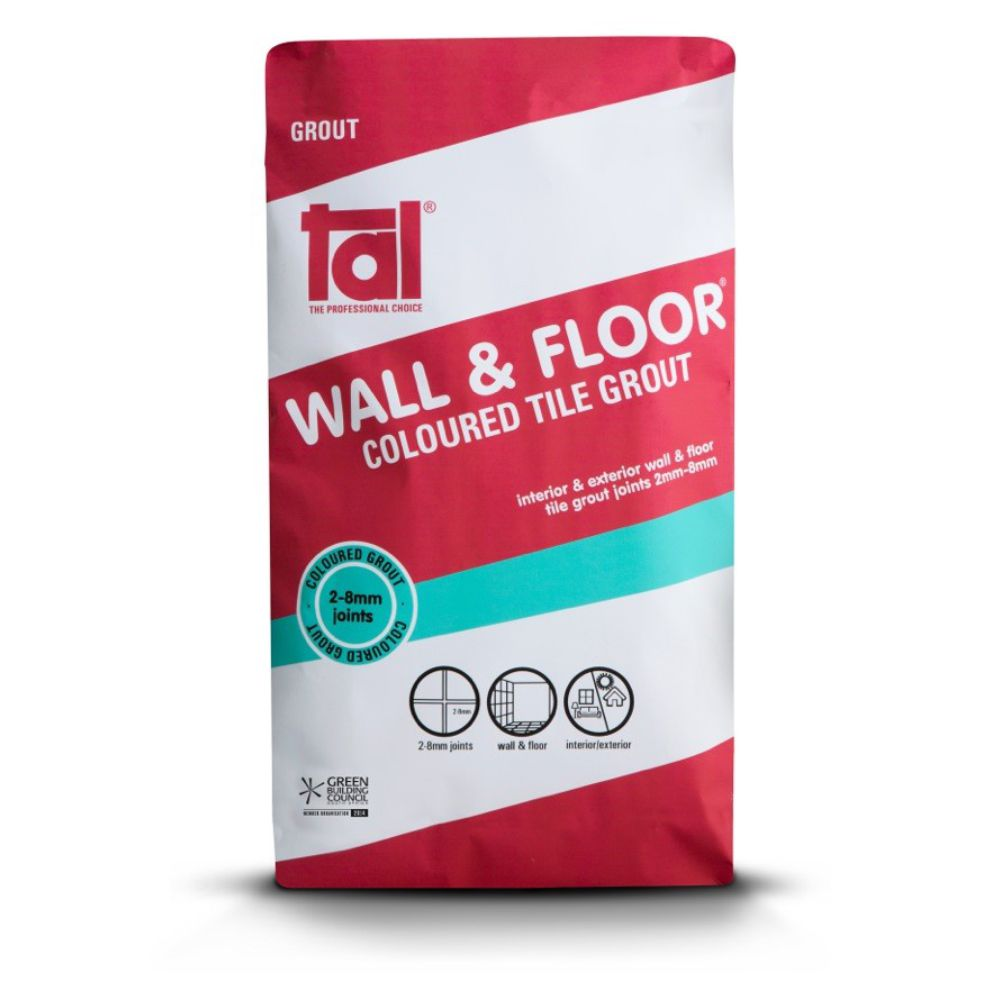 Wall & Floor Coloured Grout 20kg