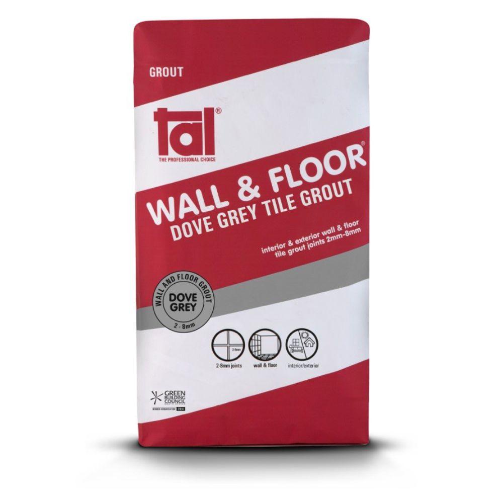 Wall & Floor Dove Grey Grout 20kg