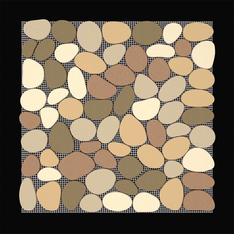 Multi-Colour Pebble