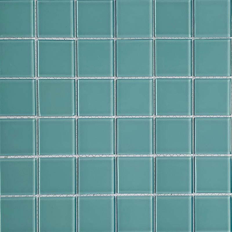 Aqua Marine Glass Mosaic