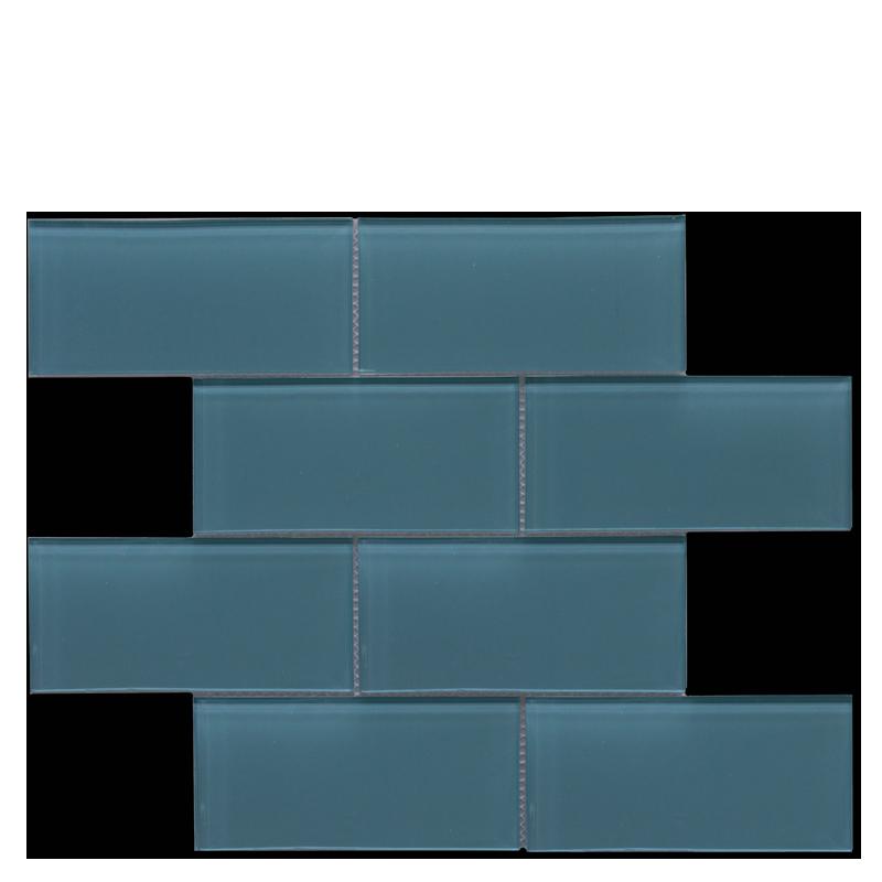 Glass Subway – Aquamarine