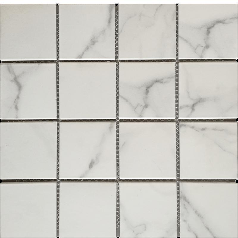 Carrara Porcelain Mosaic