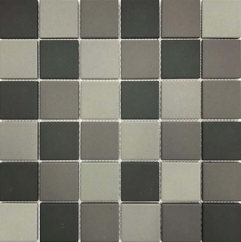Project Blend Light Mid Dark Grey Mosaic