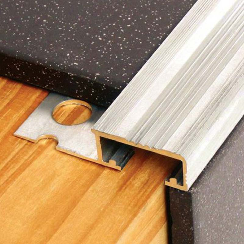 Aluminium Tile in Stairnosing