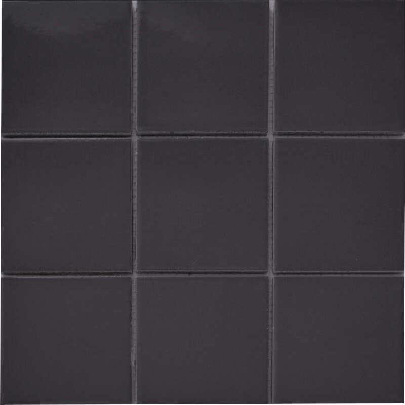 Anthracite Grey Porelain Mosaic