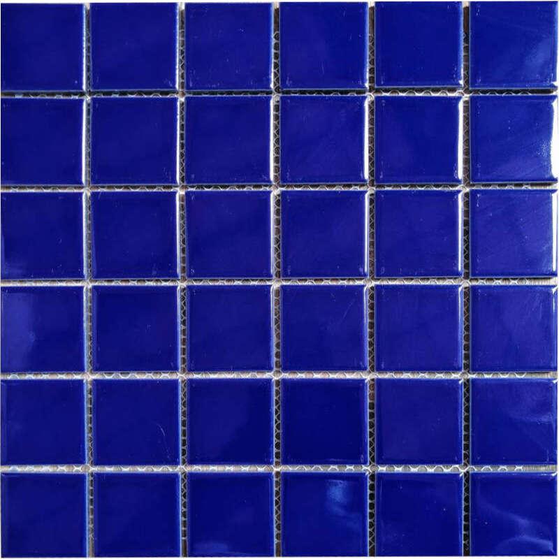 Cobal Blue Porcelain Mosaic
