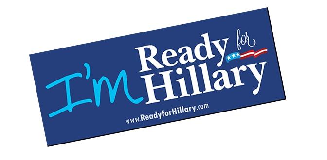 free-im-ready-hilary-sticker