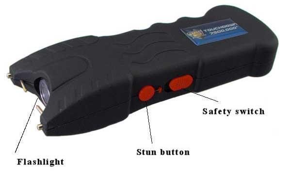 STUN GUN SAFETY GUN