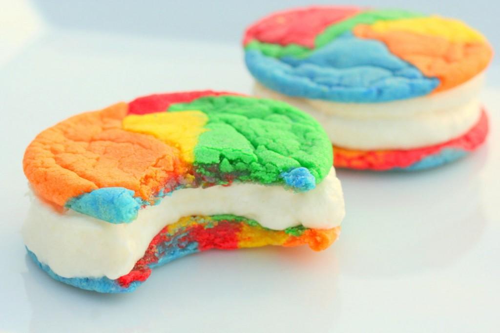 63-Rainbow-Recipes-Cream-Cookies